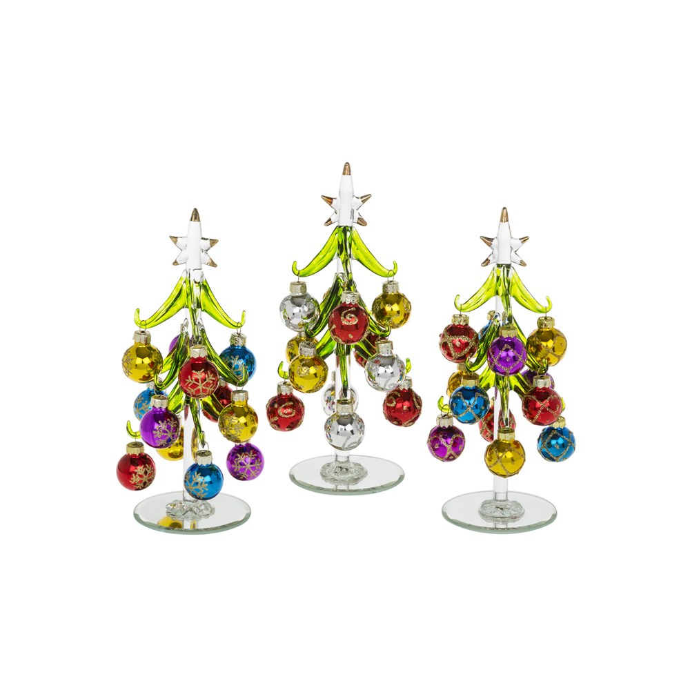 Decorated Bauble Christmas Tree Med