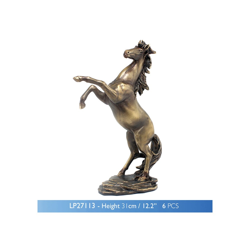 Reflections Bronze Rear Horse Small