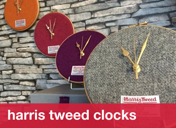 Harris Tweed Clocks
